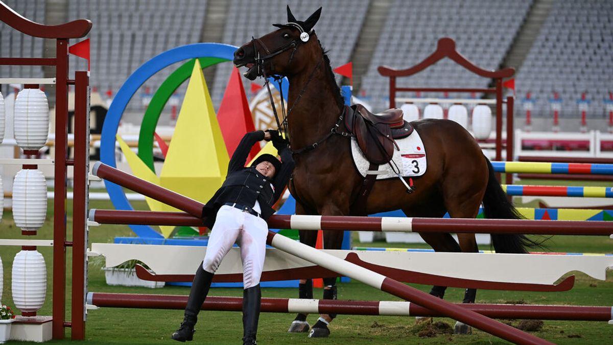 Descalificada una entrenadora alemana por golpear a un caballo en el pentatlón moderno