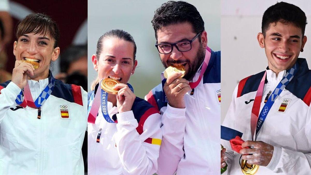 España repite los resultados de Río de Janeiro y consigue 17 medallas, pero baja en oros olímpicos