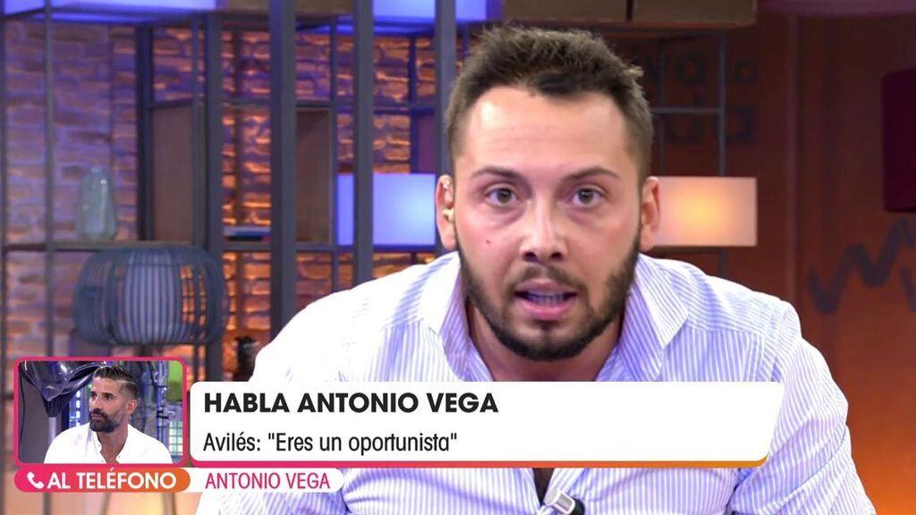 Antonio Vega entra en directo y se enfrenta a José Antonio Avilés