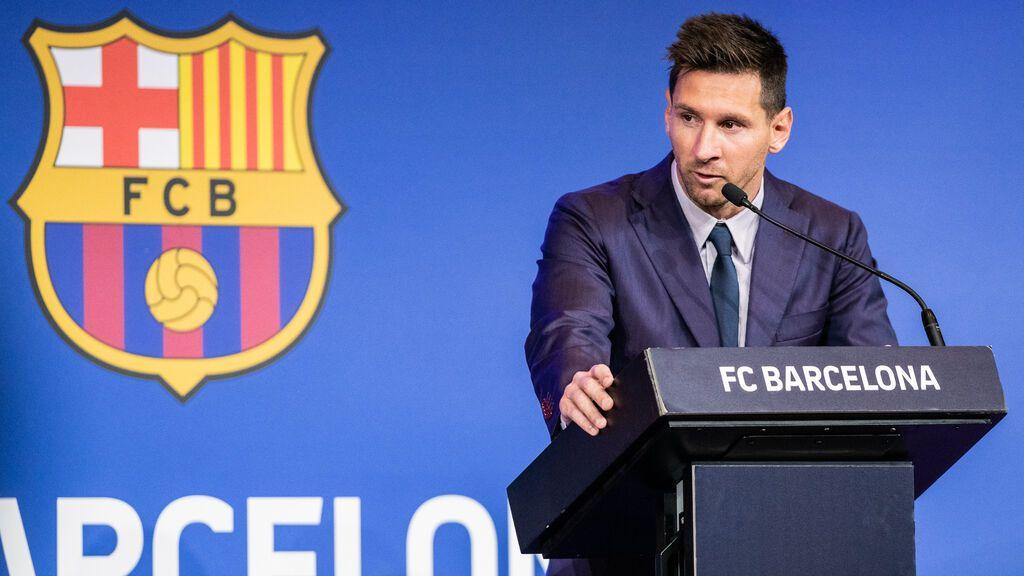 Antonella Rocuzzo y sus hijos, el mayor apoyo de Leo Messi en su triste despedida al Barça