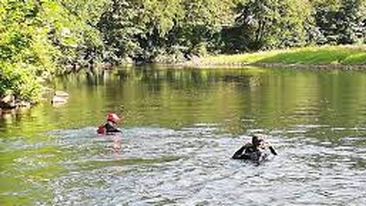 Muere un migrante cuando intentaba cruzar a nado el río Bidasoa hacia Francia