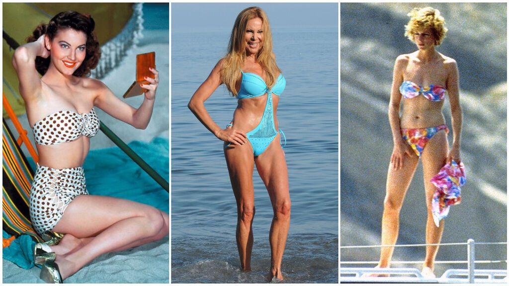 Ana Obregón, Ava Gardner o Lady Di, las protagonistas de los posados de verano más famosos de la historia: las fotos que han marcado el comienzo de la temporada estival.