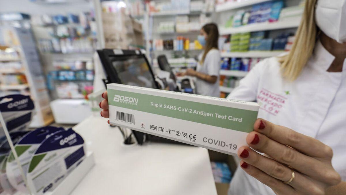 Las farmacias vendieron más de un millón test de antígenos en la segunda semana de venta sin receta