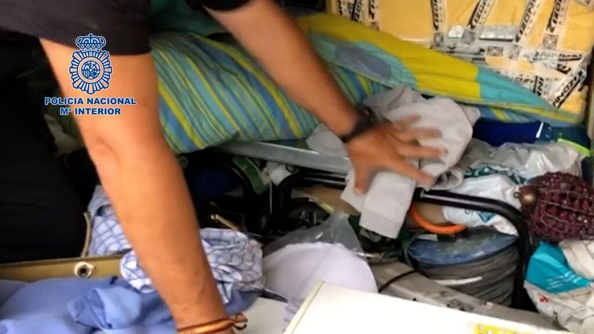 Los ladrones de herramientas: interceptada en Algeciras una furgoneta repleta de utensilios robados