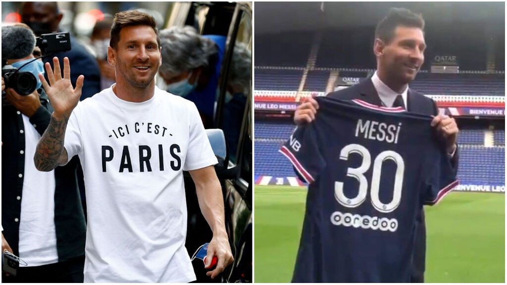 Leo Messi ficha por el Paris Saint Germain tras su ruptura entre lágrimas con el Barça