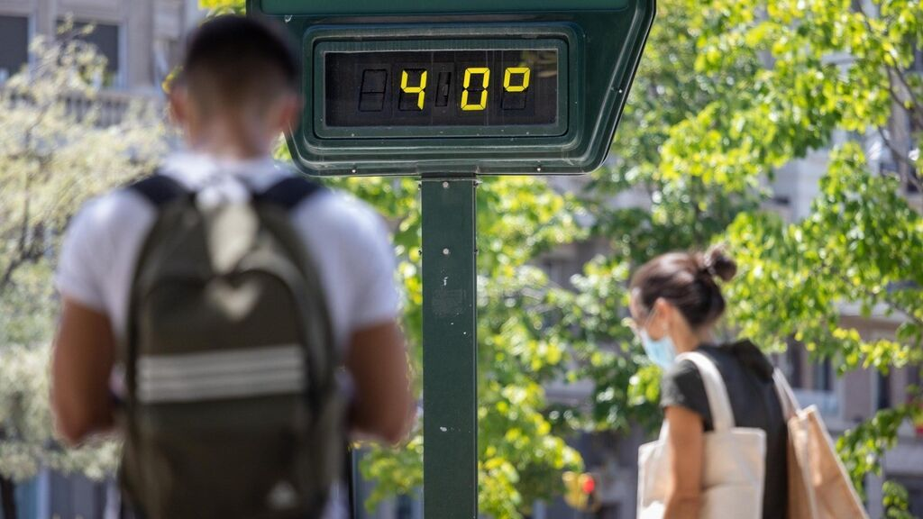 Ola de calor de extremo en España