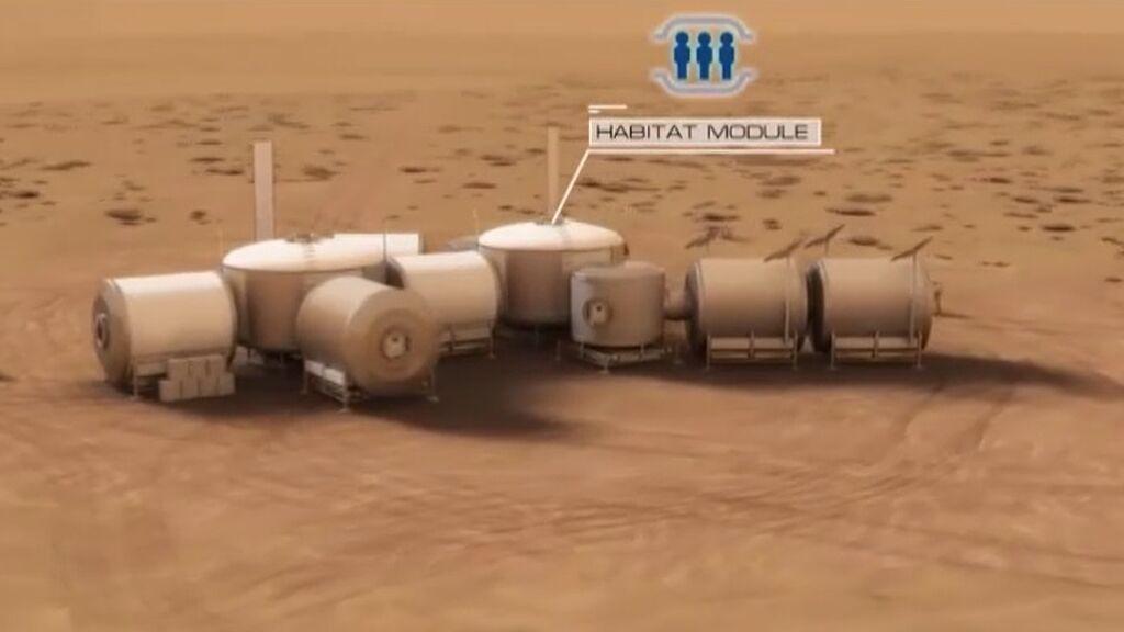 La NASA busca voluntarios para participar durante un año en una misión simulada a Marte