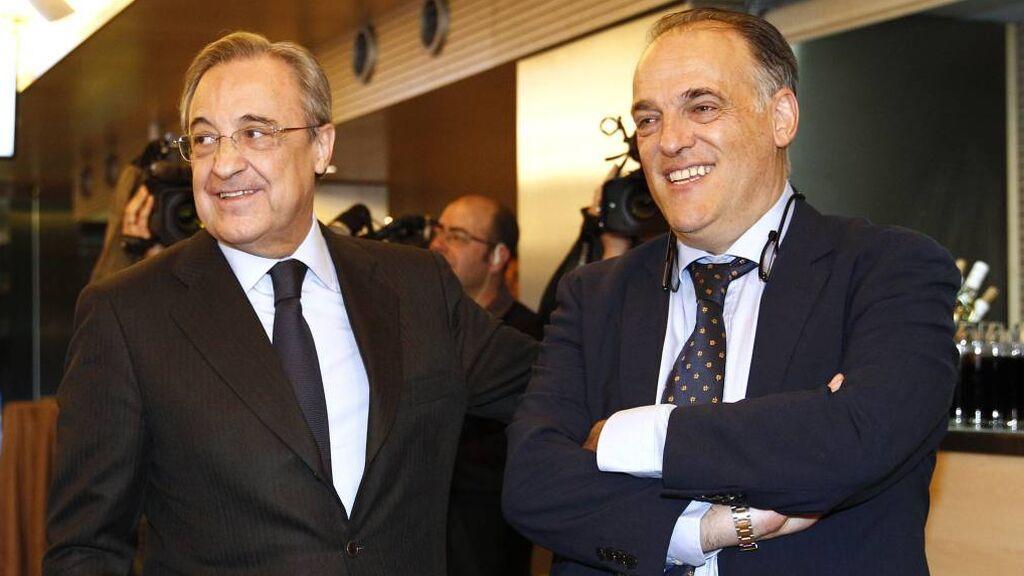 El Real Madrid denuncia a Javier Tebas tras el acuerdo entre La Liga y el Fondo CVC