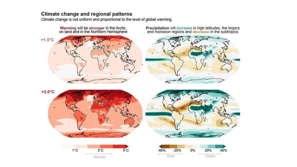 Precipitaciones del planeta.