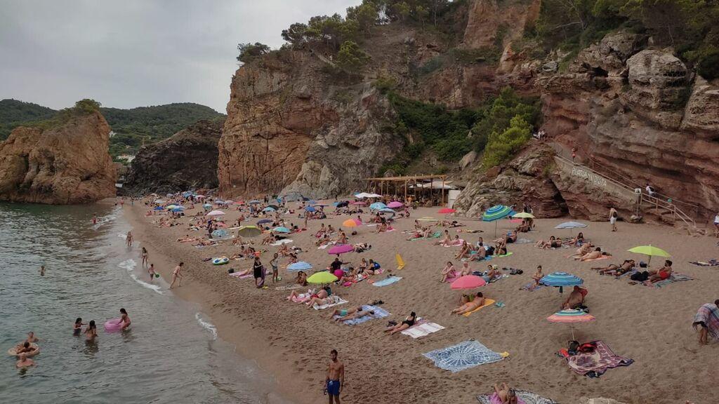 Playa Illa Roja en Begur, Cataluña