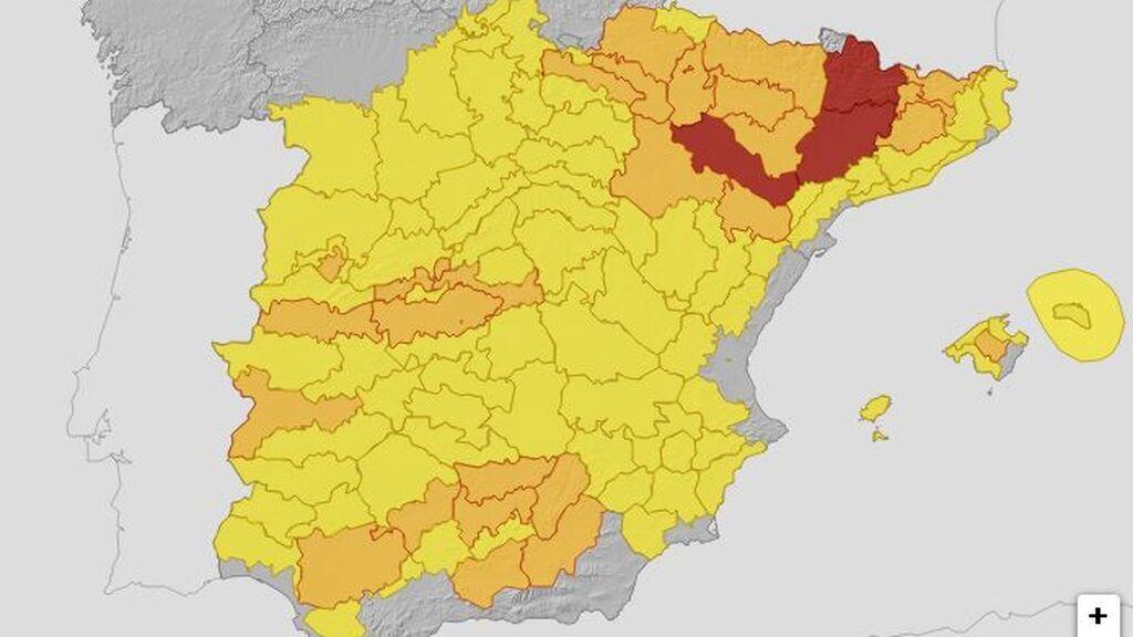 mapa jueves