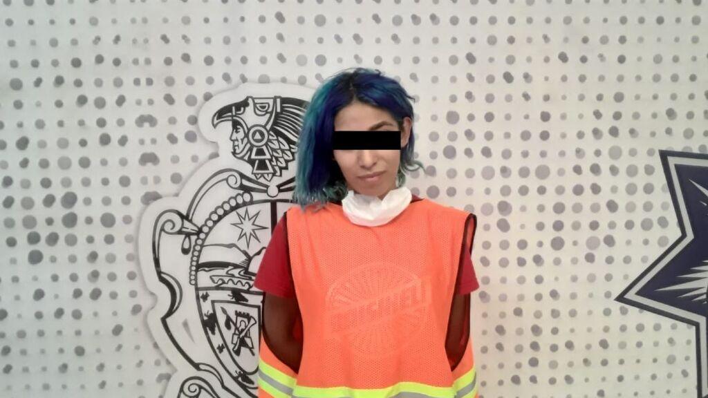 Ana Karen A. C. de 27 años también ha sido detenida