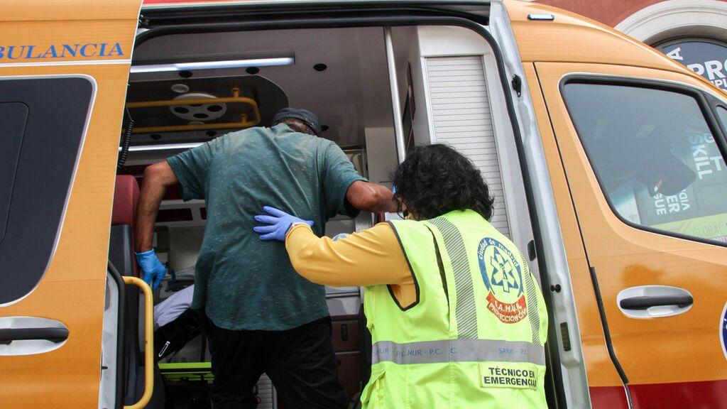 Dos presuntos polizones heridos de gravedad son encontrados en la A-67 a la altura de Molledo (Cantabria)