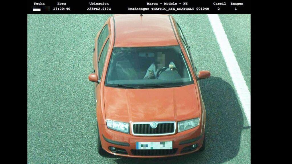Imágenes captadas por las cámaras de la DGT
