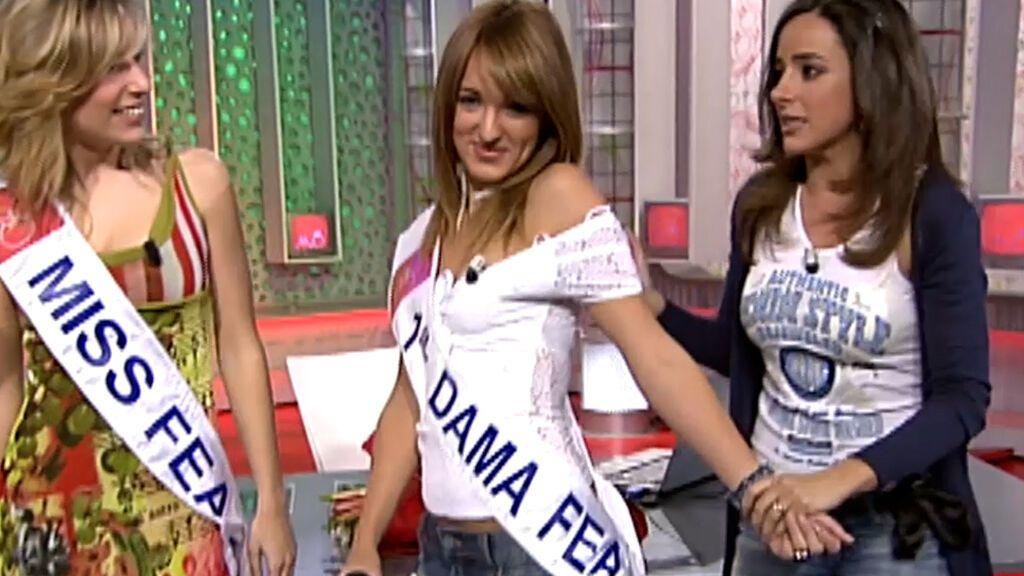 Marta Riesco en 'Miss Fea' en 'Aquí hay tomate'