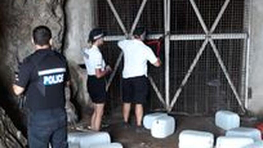 La Royal Police abre el tunel de los narcos