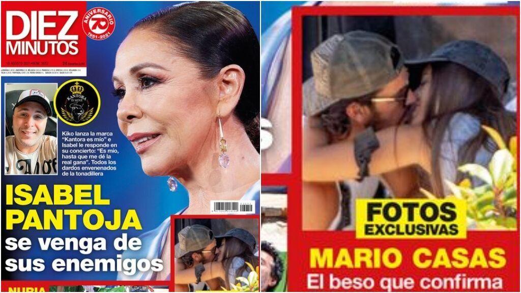 El apasionado beso de Mario Casas y Desiré Cordero