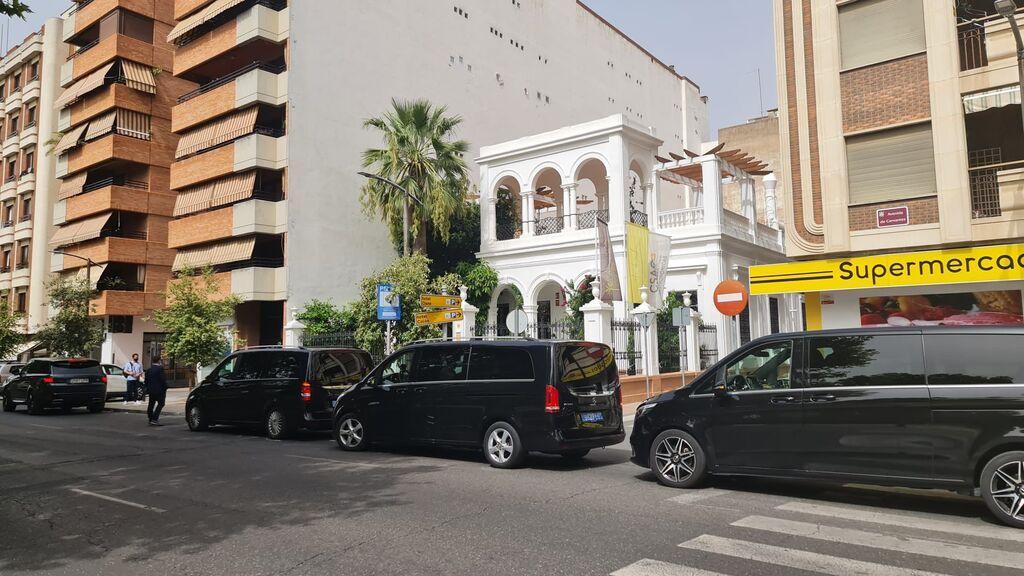 La familia Real Saudí se da un banquete en la casa de Manolete en Córdoba