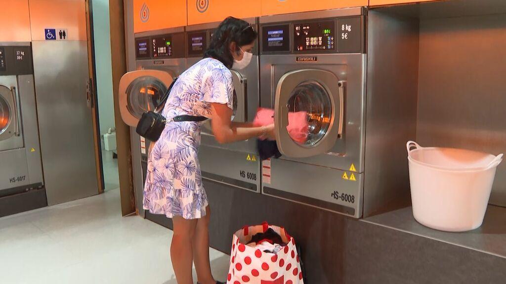 En auge el negocio de las lavanderías ante el aumento del precio de la luz