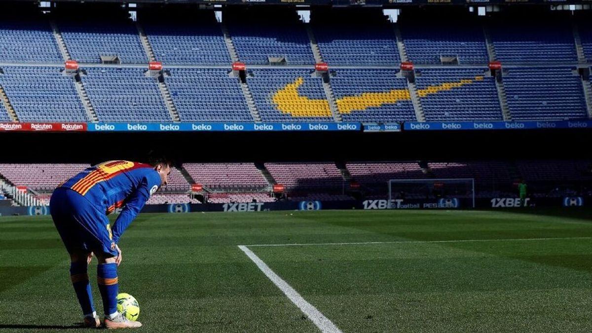 El Barça ya siente la marcha de Messi: apenas 15.000 abonados acudirán al inicio de La Liga