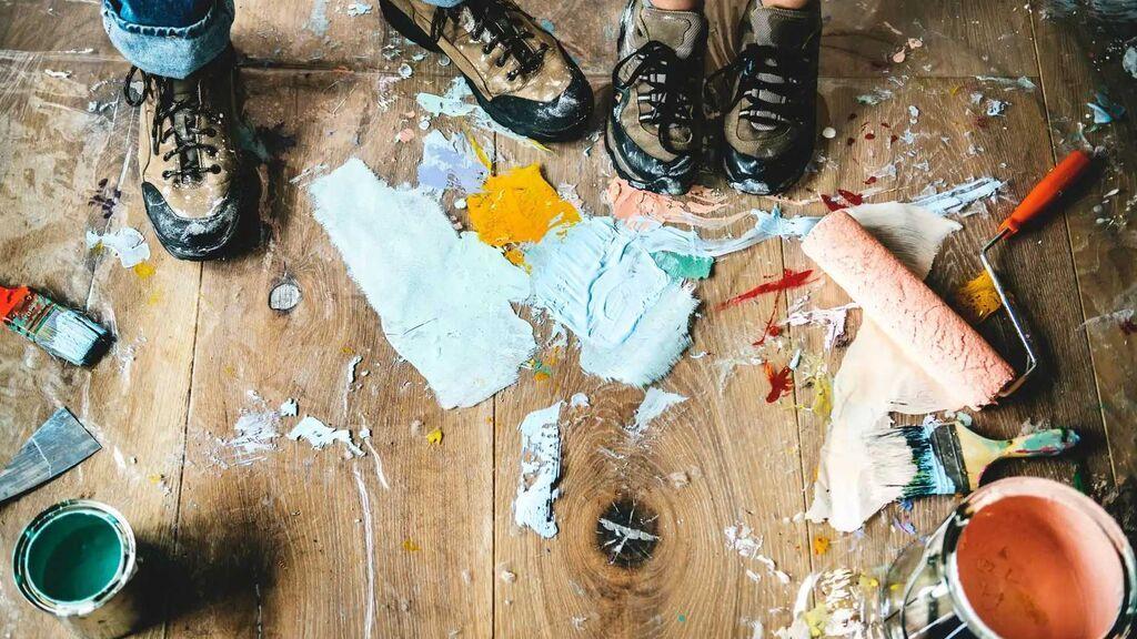 Cómo quitar las manchas de pintura seca de cualquier superficie: la importancia de saber la composición de la pintura