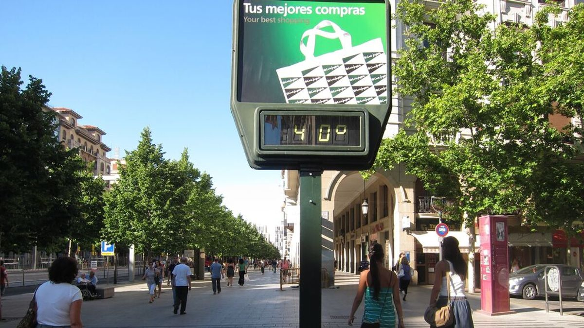 33 localidades superan los 40 grados en el primer día de la ola de calor