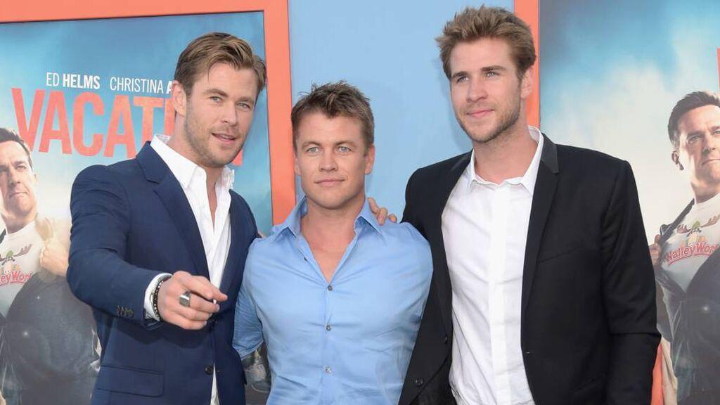 Chris, Liam y Luke: así es la vida de los hermanos Hemsworth en Australia y así se llevan.