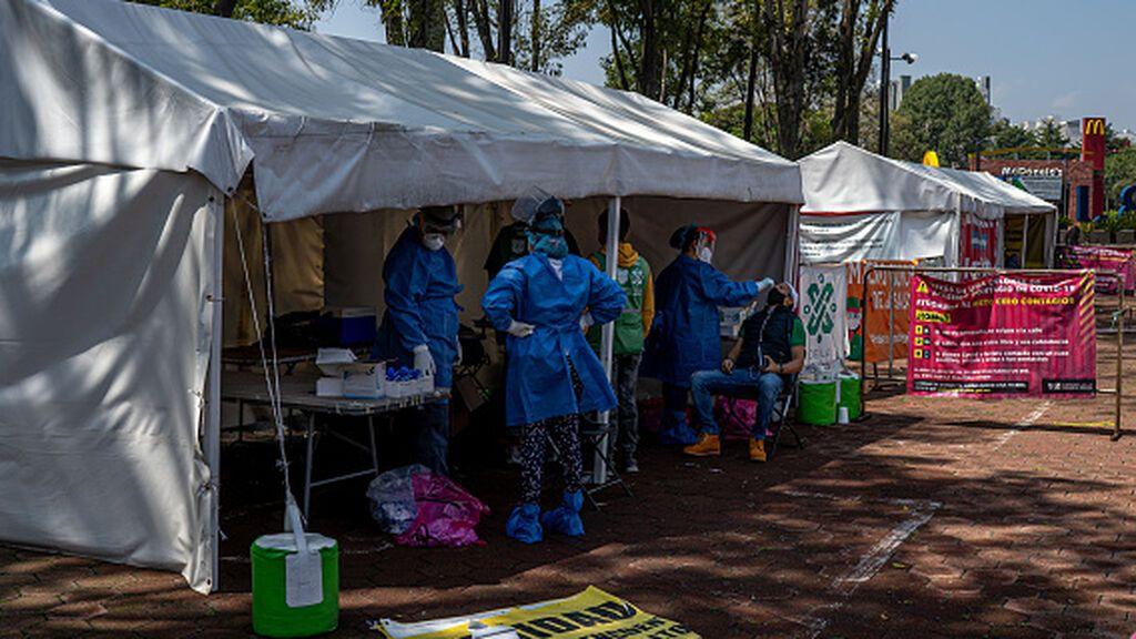 México bate un nuevo récord de contagios por coronavirus y supera los tres millones de contagios