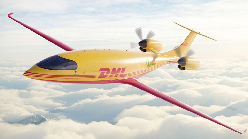 La empresa alemana DHL compra aviones eléctricos para sus repartos exprés