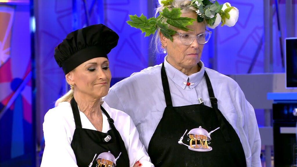 Lucía Dominguín y Cristina Cifuentes, una extraña pareja que funciona La última cena Temporada 2 Programa 14