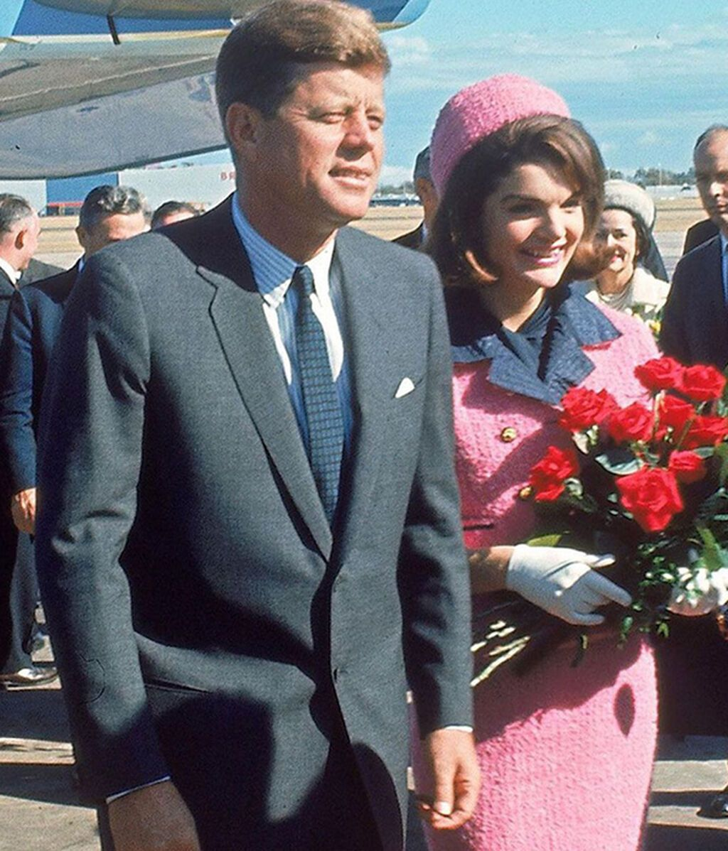 Los Kennedy en su viaje a Texas