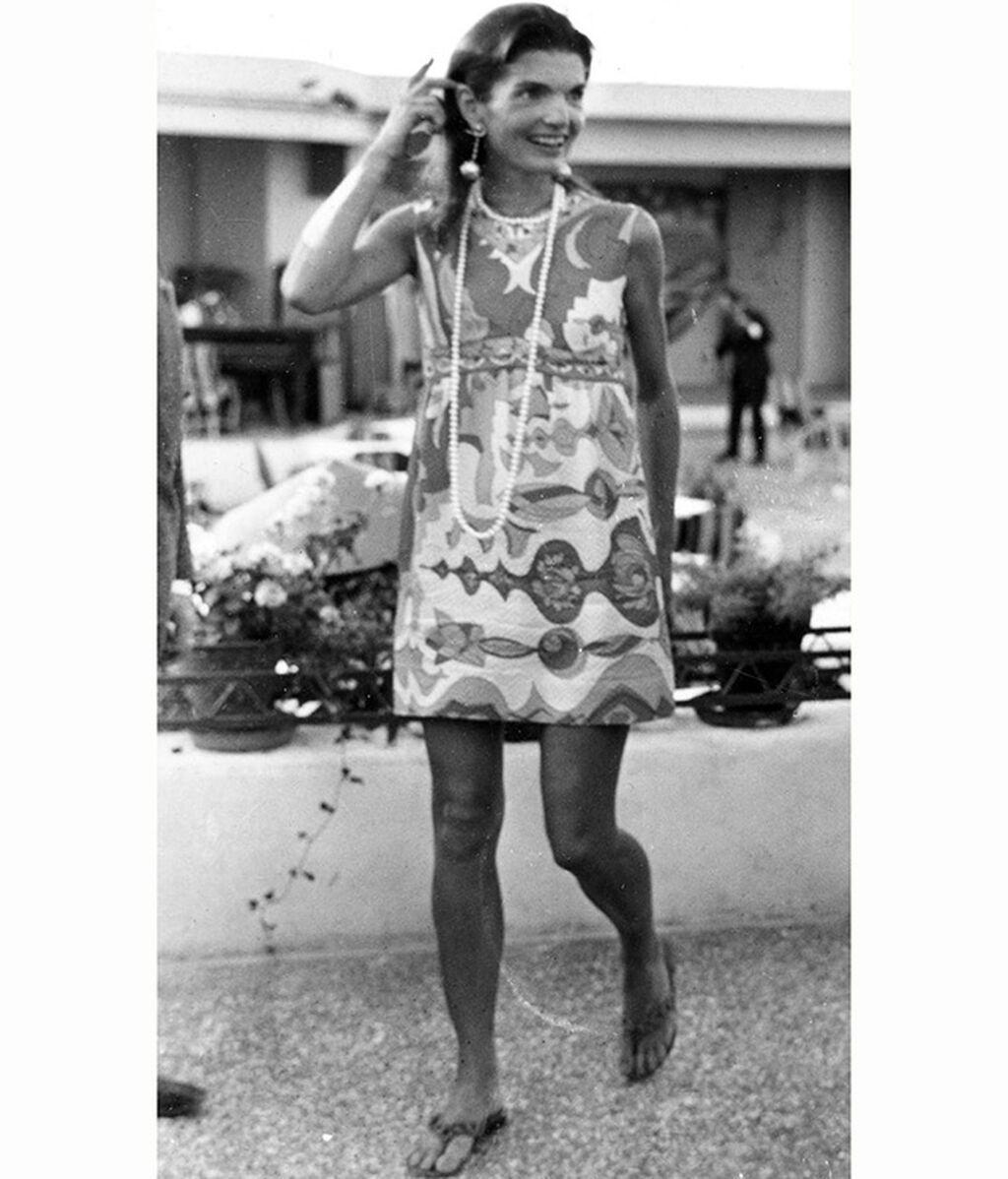 Jackie Kennedy en Grecia