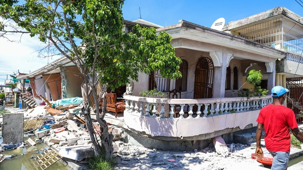 Registrado un seísmo de magnitud 7,2 en la costa de Haití, en imágenes