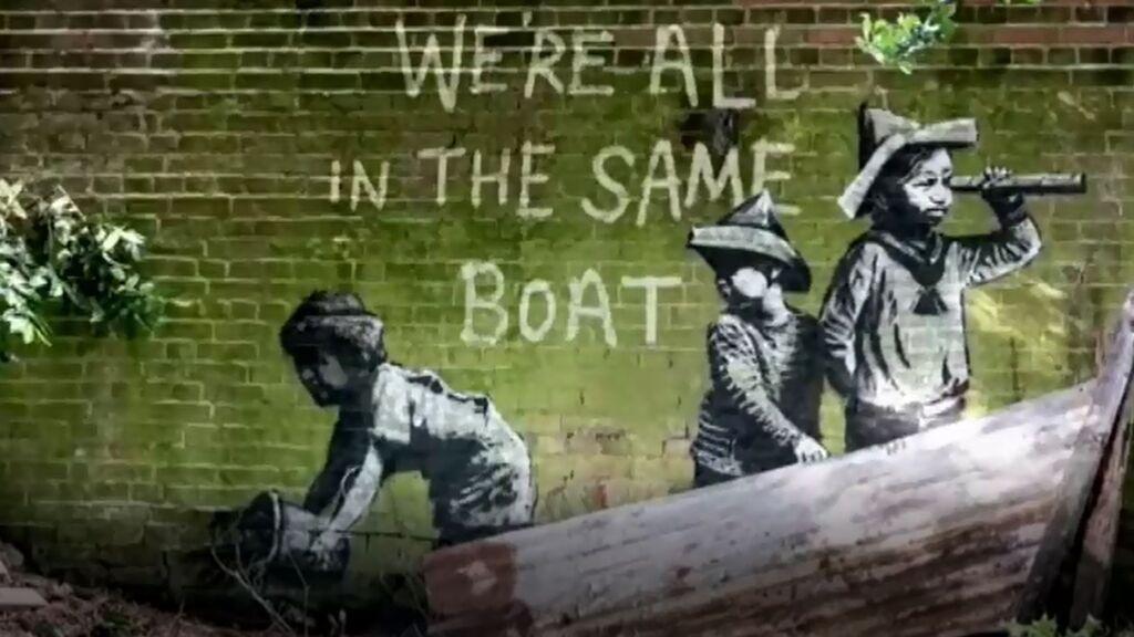 Banksy reconoce 10 nuevas obras en ciudades costeras de Inglaterra