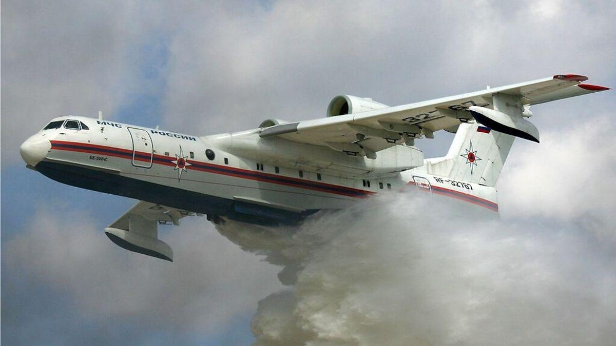 Al menos ocho muertos al estrellarse un avión ruso que combatía los incendios en Turquía