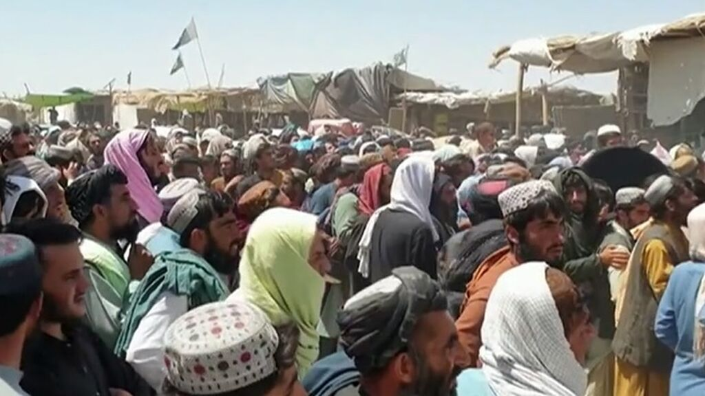 Los talibanes avanzan de forma imparable en Afganistán, ya controlan dos terceras partes del país