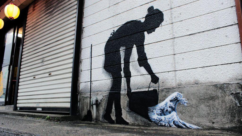 'Everyone is an artist' (Tribute to Katsushika Hokusai), Tokio (Japón), 2015