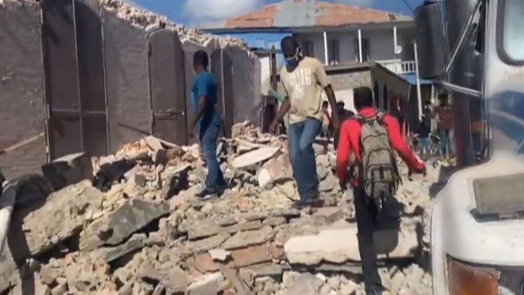 Un fuerte terremoto en Haití de 7,2 de magnitud causa 29 muertos, entre ellos, dos niños