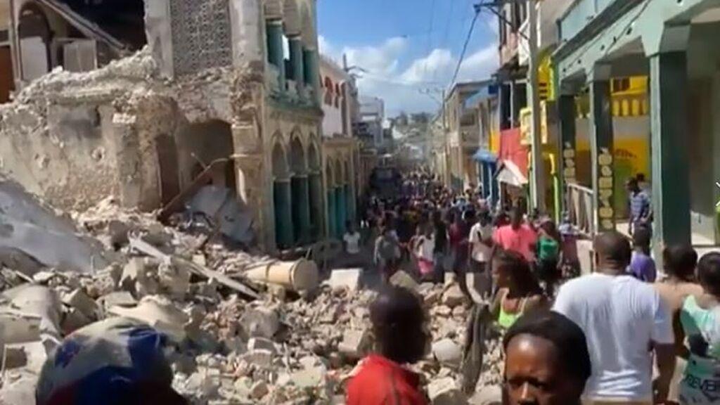 El terremoto de 7,2 grados registrado en Haití deja más de 300 muertos y 2.000 heridos