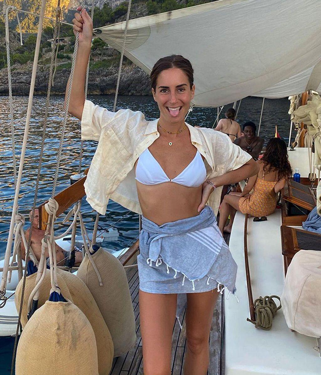 Gala González de crucero