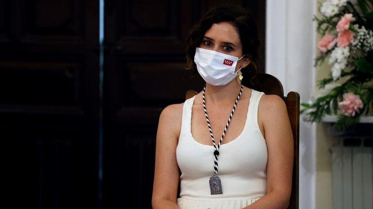 "Isabel Díaz Ayuso: ""No podemos permitir que haya menores no acompañados deambulando por España"""
