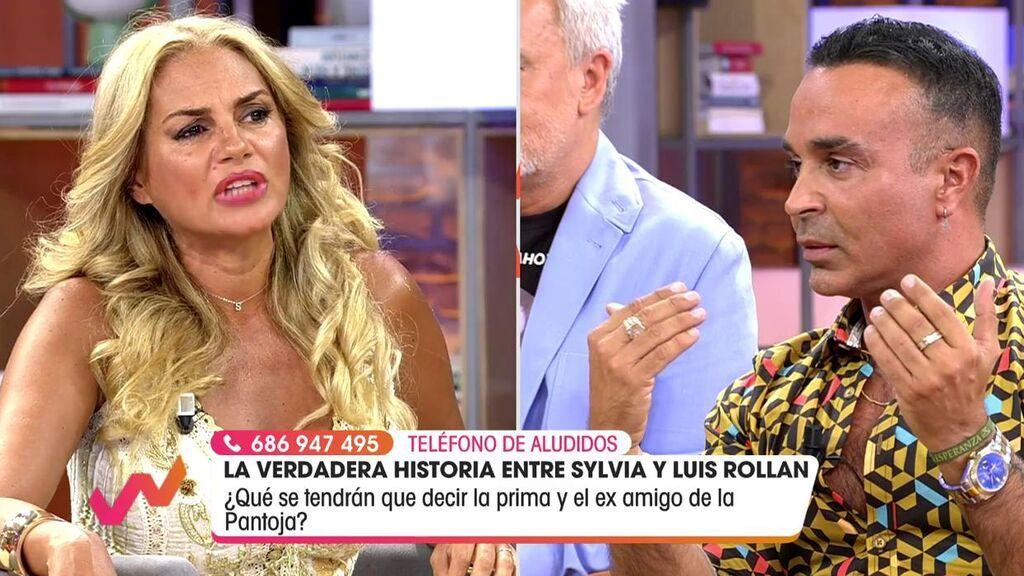 Sylvia Pantoja y Luis Rollán se enfrentan en 'Viva la vida'