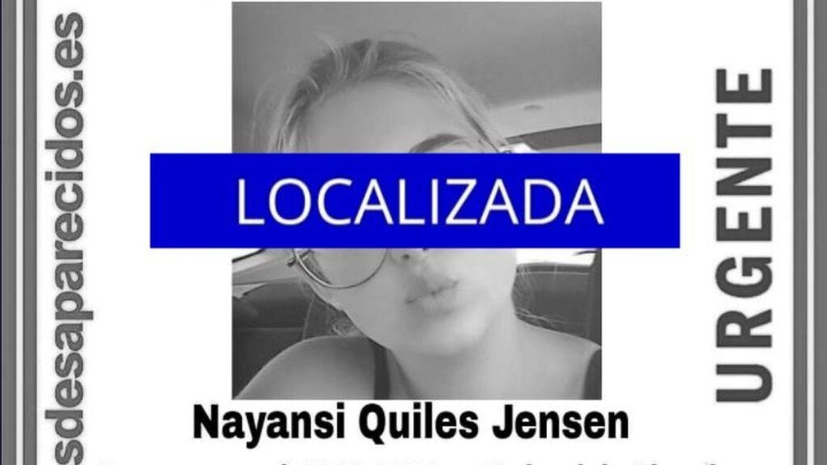 Encuentran Nayansi Quiles, la menor de 15 años desaparecida en Almería