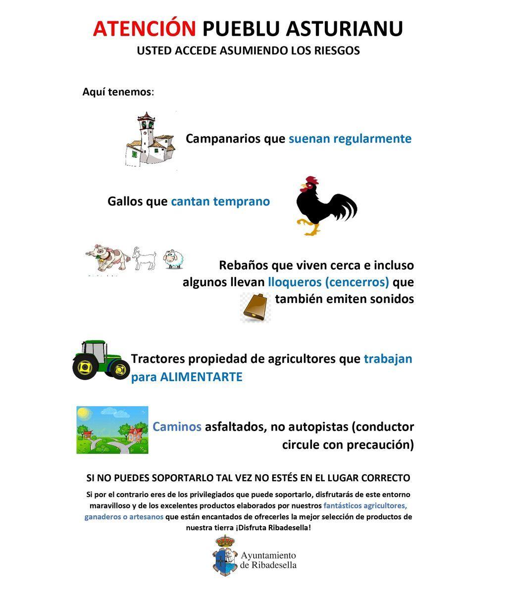 Cartel de Ribadesella