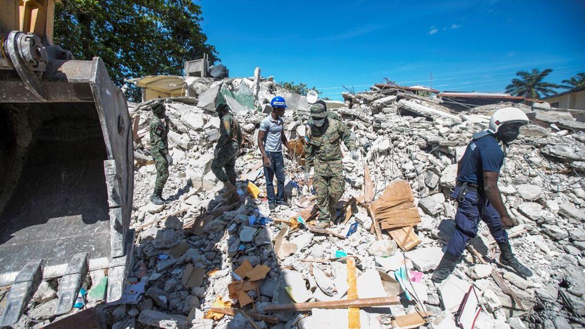 Haití se prepara para la tormenta tropical Grace tras el terremoto con más de 1.200 muertos