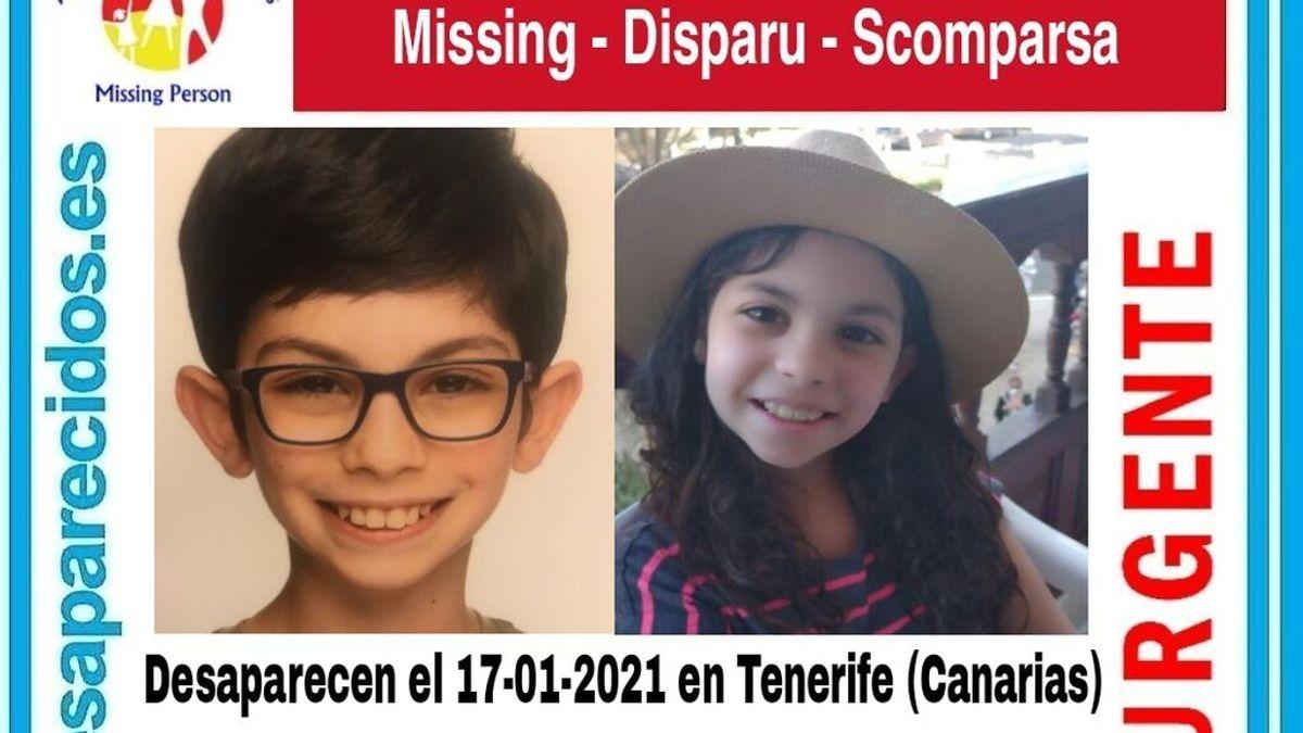 Desaparecidos dos menores en Tenerife