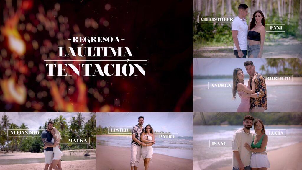 'Regreso a la última tentación', estreno exclusivo en Mitele PLUS el lunes 23 de agosto