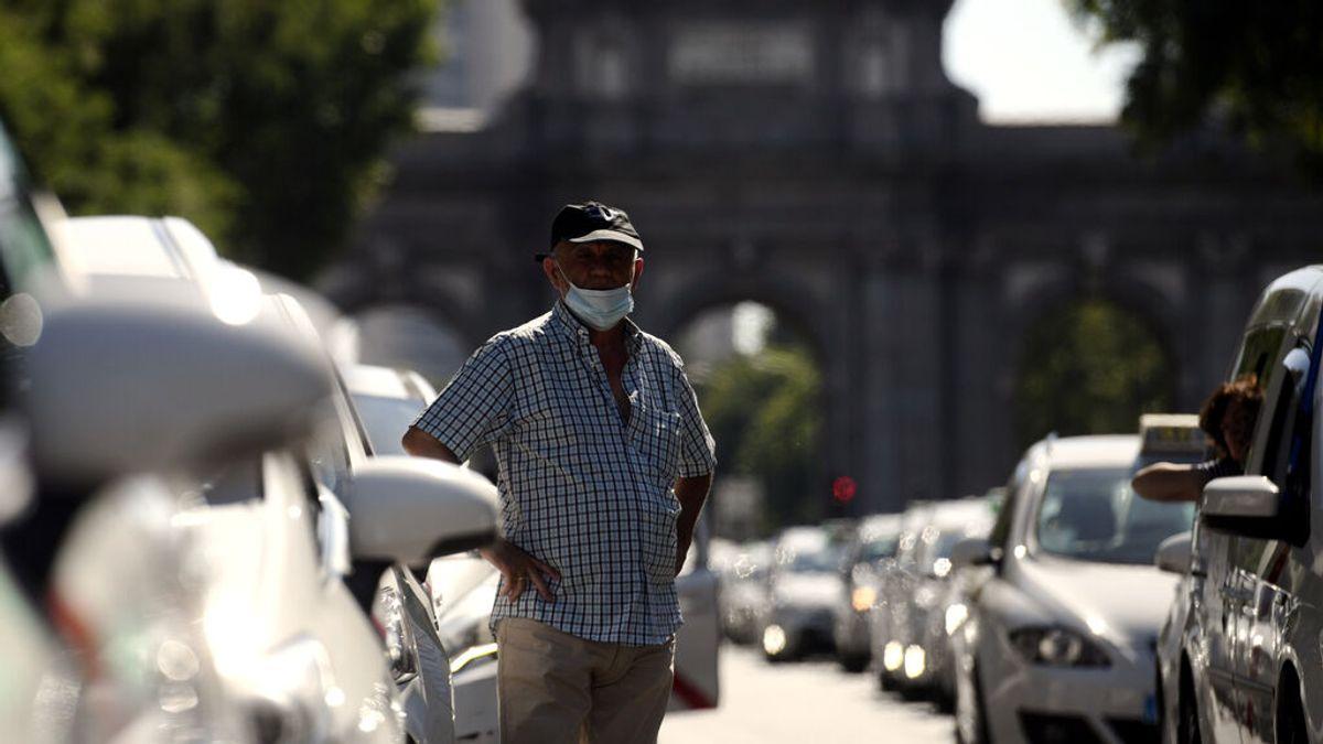 Los taxis de Madrid permiten ocupar de nuevo la plaza de copiloto