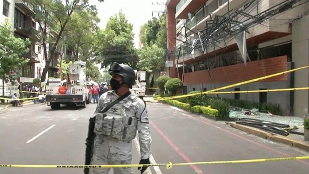 Explosión en un edificio de 63 pisos en Ciudad de México: al menos un muerto y 29 heridos