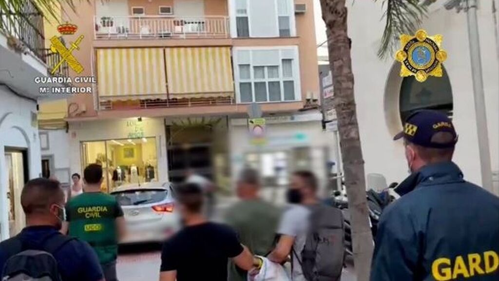 Detenido El monje, conocido delincuente fugado en Málaga y buscado por asesinato en Irlanda
